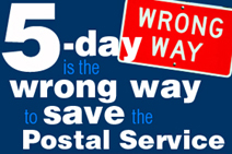 5-day is the wrong way to save Postal Service
