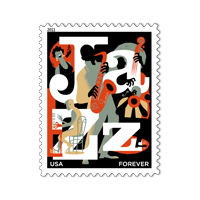 Jazz Appreciation Forever Stamp 2011