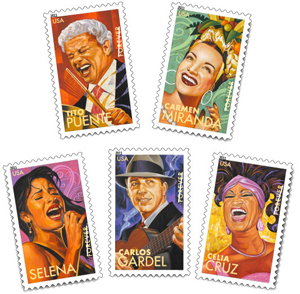 Latino Legends Forever Stamps