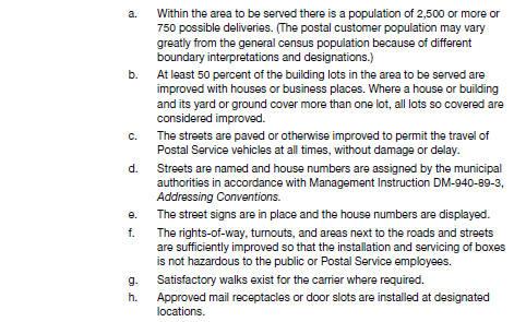 Postal Operations Manual 641