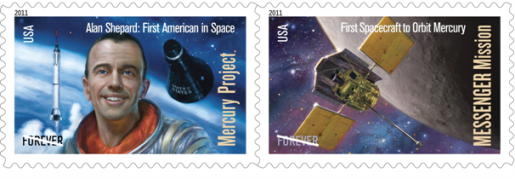 Astronaut Alan Shepard Immortalized on Forever Stamp