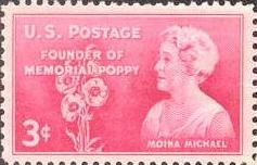 Moina Memorial Stamp