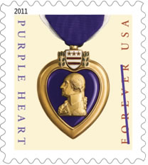 Purple Heart Forever Stamp