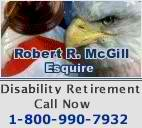 Robert R. McGill, Esquire.- Representing Postal and Federal Workers for FERS & CSRS Disability Retirement