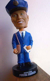 USPS Giving Away Leftover Letter Carrier Bobbleheads
