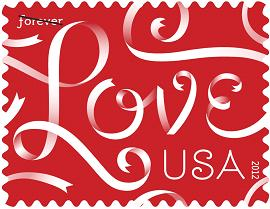 Love Ribbons Stamp