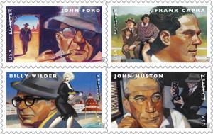 U.S. Postal Service Honors Capra, Ford, Huston and Wilder
