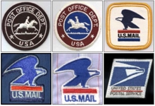 Usps Uniform Emblems Through The Years Postalreporter News Blog